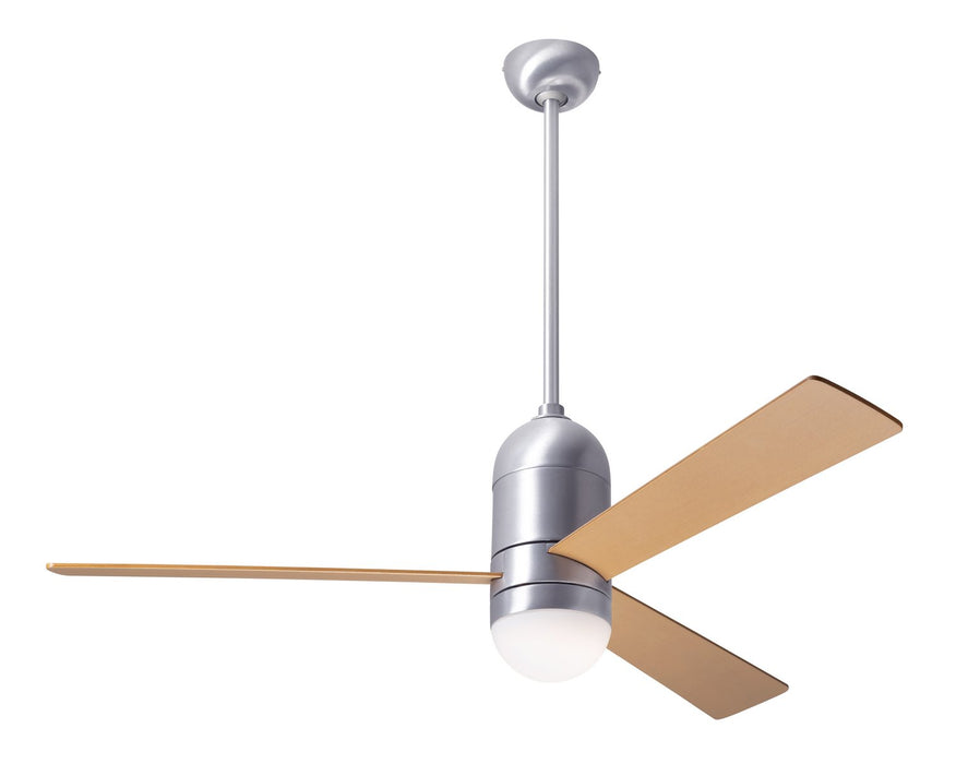 "Modern Fan Co 50"" Ceiling Fan from the Cirrus DC collection in Brushed Aluminum finish"