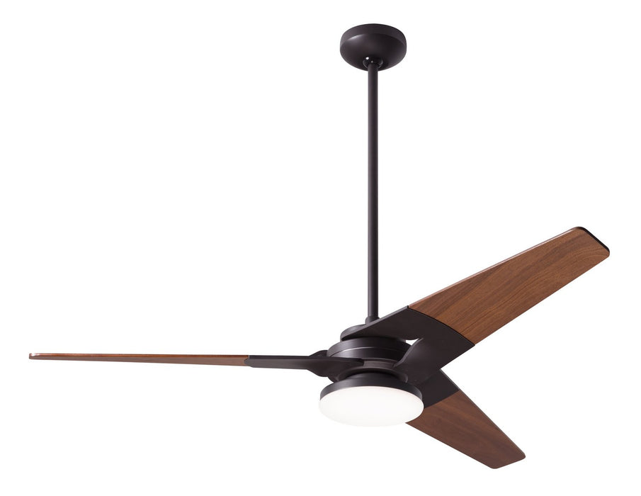 "Modern Fan Co 52"" Ceiling Fan from the Torsion collection in Dark Bronze finish"