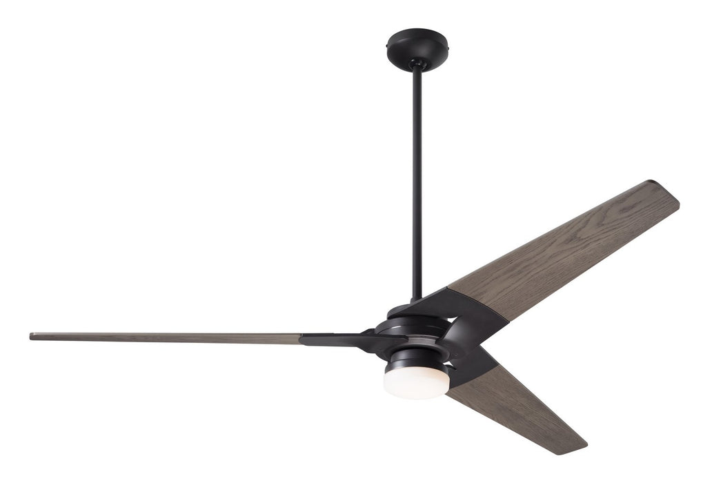 "Modern Fan Co 62"" Ceiling Fan from the Torsion collection in Dark Bronze finish"