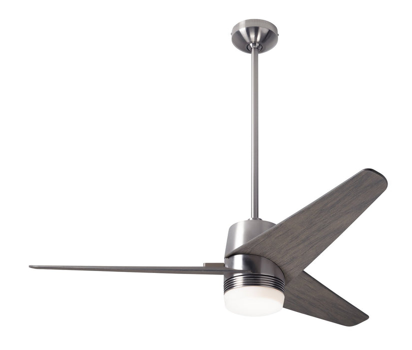 "Modern Fan Co 48"" Ceiling Fan from the Velo DC collection in Bright Nickel finish"