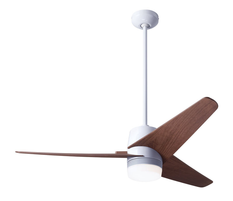 "Modern Fan Co 48"" Ceiling Fan from the Velo DC collection in Gloss White finish"