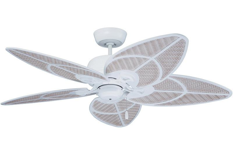 "Emerson CF621SW 52"" Batalie Breeze in Satin White"