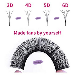 Single Volume Cashmere Lashes