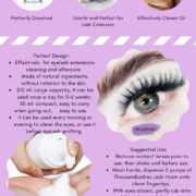 Thousandlashes' Lash Foam