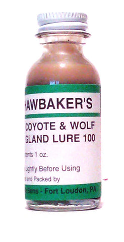 Hawbakers Coyote & Wolf Gland #100
