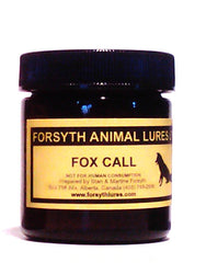 Forsyth Fox Call Lure