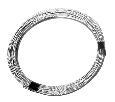 1/8, 7x19, Galvanized Aircraft Cable