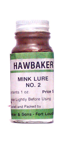 Hawbakers Mink Lure #2