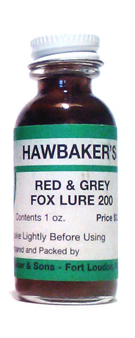 Hawbakers Red & Grey Fox #200