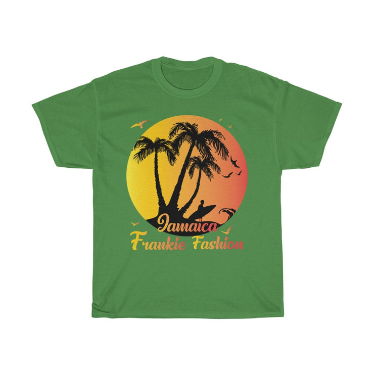Unisex Heavy Cotton Tee - Boston Beach Jamaica JFF
