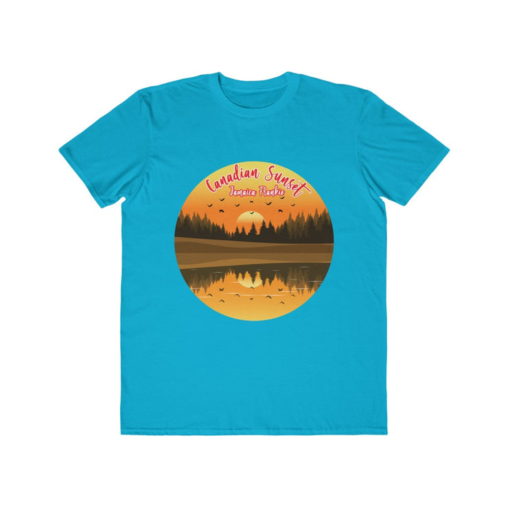 Men's Lightweight Fashion Tee - Canadian Sunset