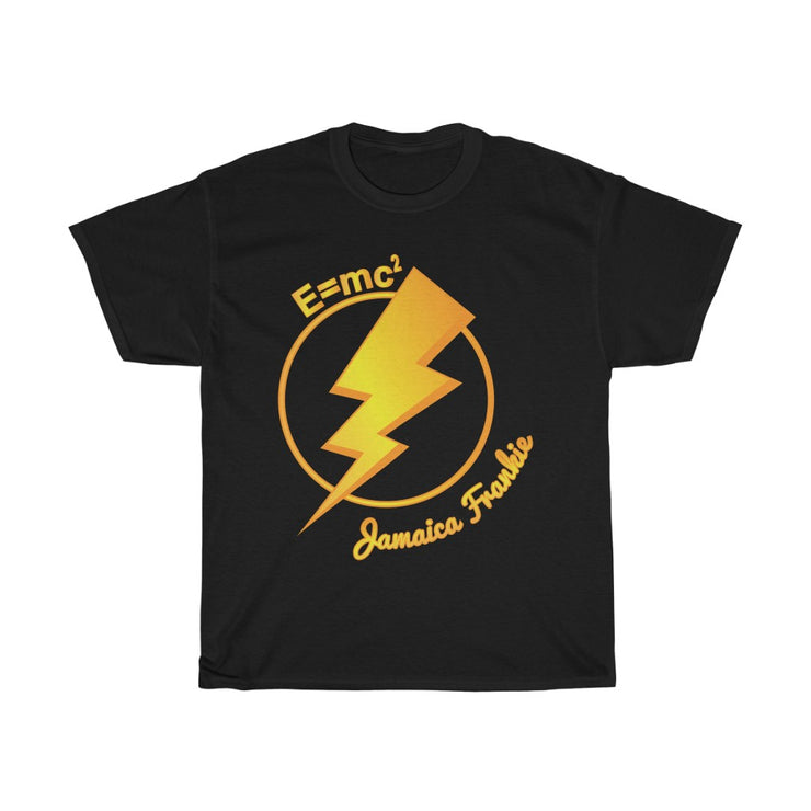 Unisex Heavy Cotton Tee - E=mc2 ⚡Lightning