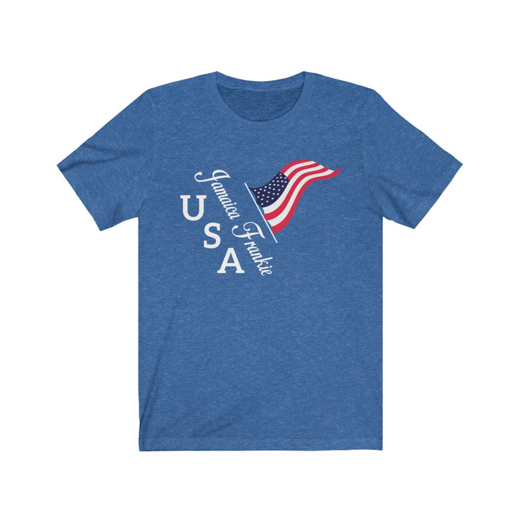 """USA JAMAICAFRANKIE '' - Unisex Ultra Cotton Tee"