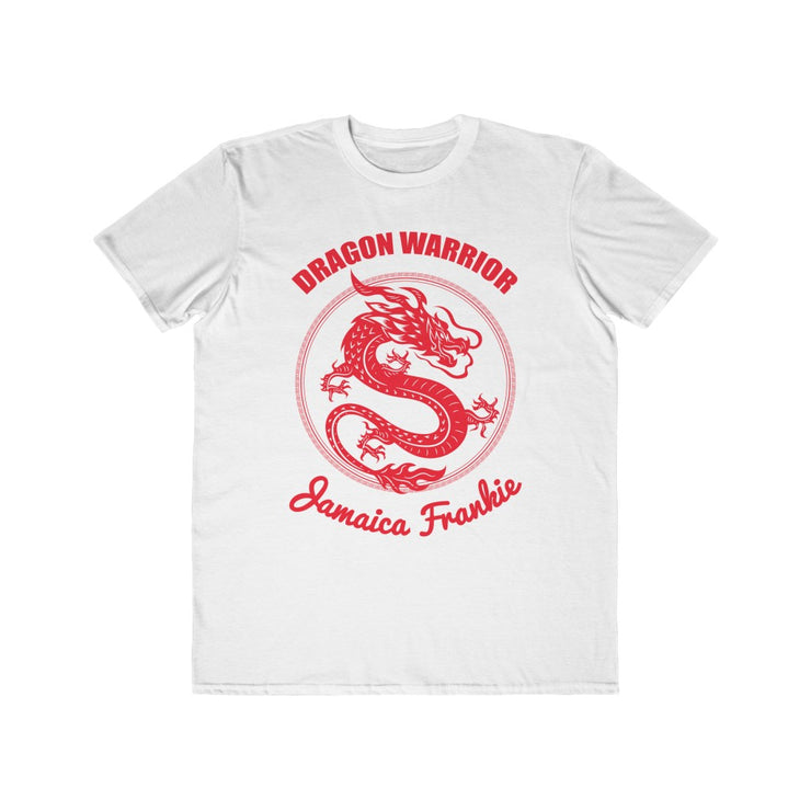 Men's Lightweight Fashion Tee - JAMAICA FRANKIE THE DRAGON WARRIOR