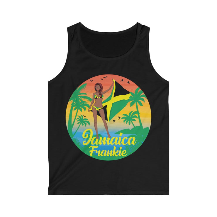 Men's Softstyle Tank Top - Jamaica Frankie Signature Collection