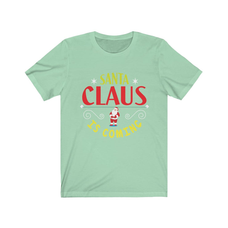 """SANTA CLAUS is coming"" Frankie.fashion - Unisex Jersey Awesome Quality Tee"