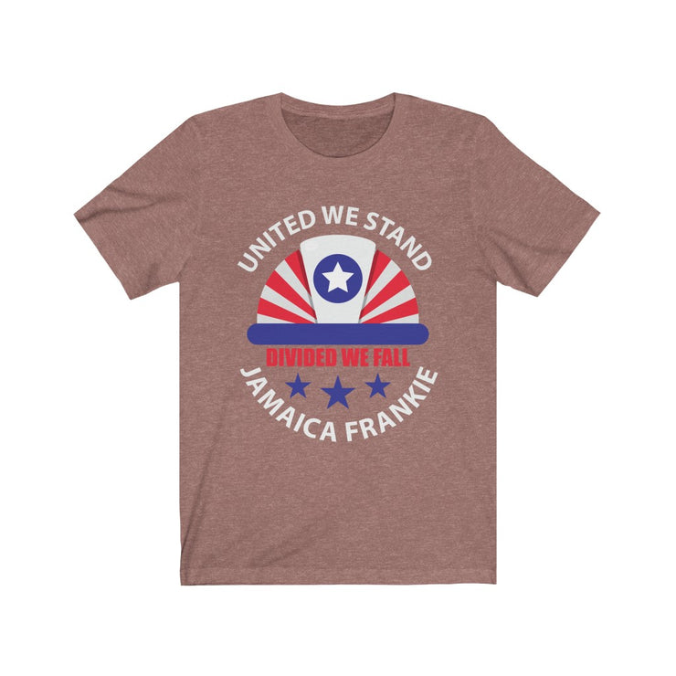 """UNITED WE STAND JAMAICAFRANKIE '' - Unisex Ultra Cotton Tee"