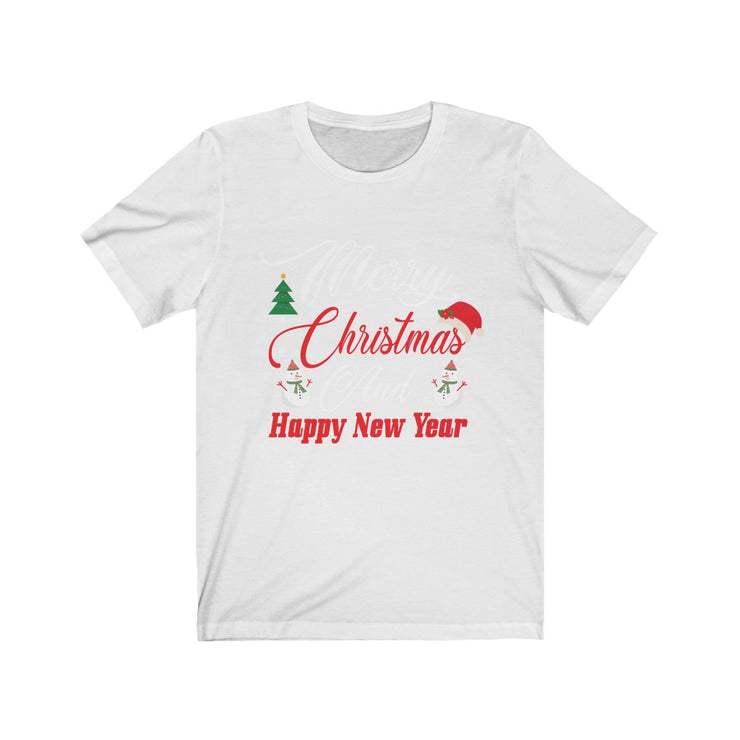 """Merry Christmas"" Frankie.fashion - Unisex Jersey Awesome Quality Tee"