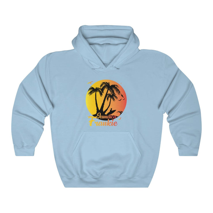 Unisex Heavy Blend™ Hooded Sweatshirt - Boston Beach Surfing in Jamaica