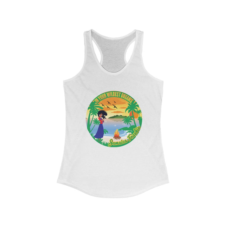Women's Ideal Racerback Tank - In Your Wildest Dreams