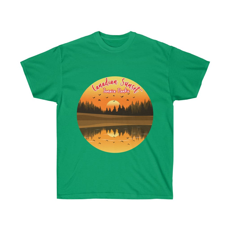 Unisex Ultra Cotton Tee - Canadian Sunset