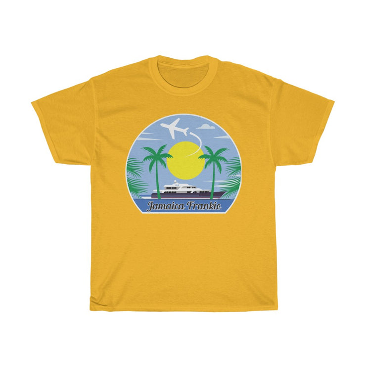 Unisex Heavy Cotton Tee - Travel Tee JamaicaFrankie
