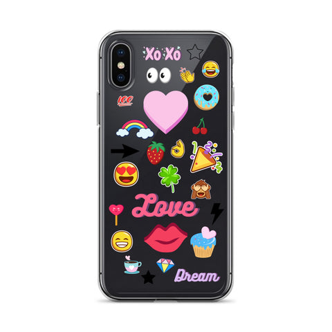 CLIPART iPhone Case [X/XS, XR, XS Max]