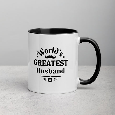 'World's Greatest Husband' Mug
