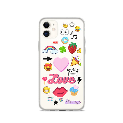 CLIPART iPhone Case [11, 11 Pro, 11 Pro Max]
