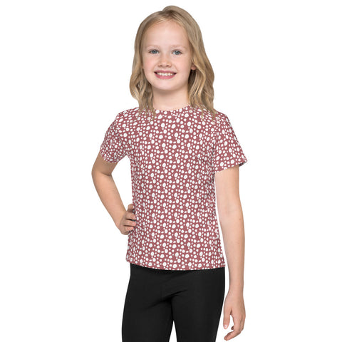 BONBON Mauve Dotty T-Shirt [2-7 Years]