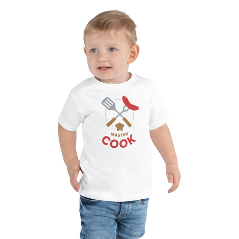 OLIVER CLARKE 'Master Cook' Boys' T-Shirt [2-5 Years]