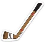 Hockey Stick Sticker