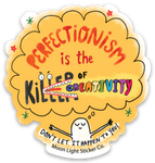 Perfectionism Sticker