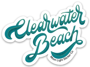 Clearwater Beach Sticker