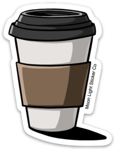 Coffee ToGo Sticker