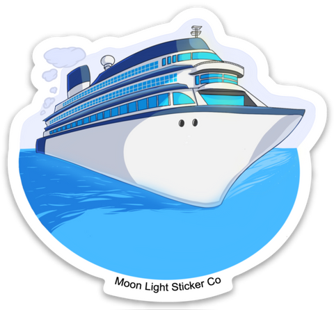 Cruise Ship Sticker