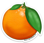 Orange Sticker