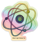 Holographic Atom Sticker