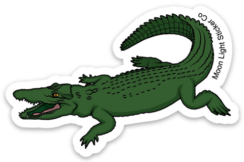 Alligator Sticker