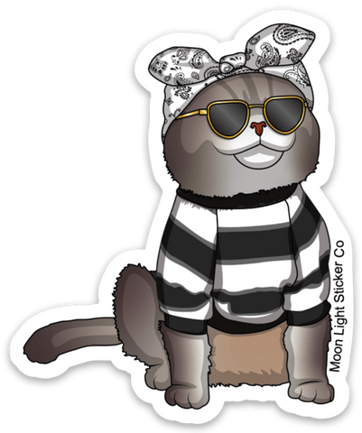 Benson The Street Cat Sticker