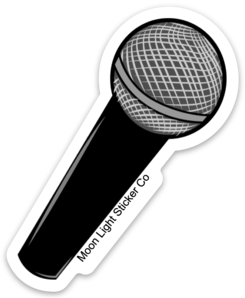 Microphone Sticker