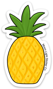 Piña Sticker