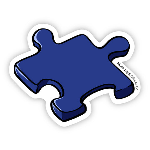 Puzzle Piece Sticker