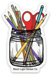 Supply Jar Sticker