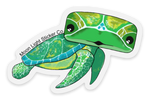 Clear Turtle Sticker