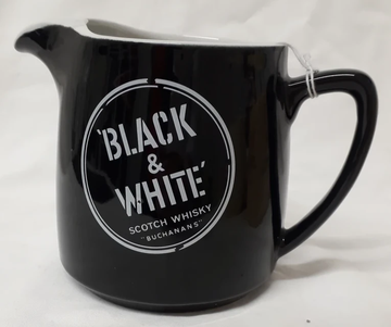 "Black & White' Scotch Whisky ""Buchanans"" Mug"