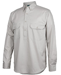 Longreach L/S Close Front Shirt