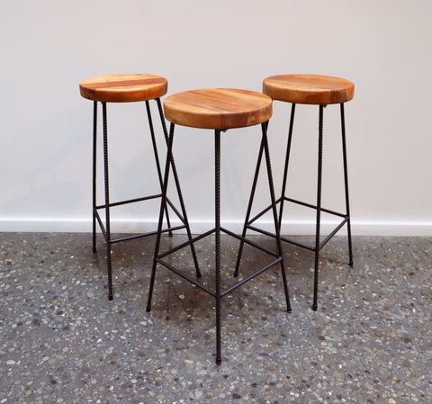 Rimu Top Bar Stools