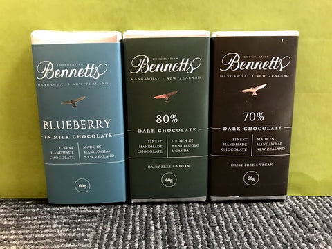Bennetts Chocolate Bars (3 pack)