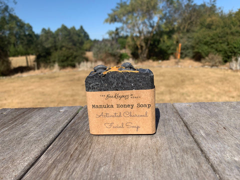 Charcoal Manuka Honey Soap